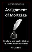 Assignment of Mortgage (with instructions) (English Edition)