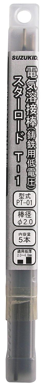 終了しましたメンバーかわいらしいスズキッド(SUZUKID) T-1 2.0φ*230mm 5本 PT-01