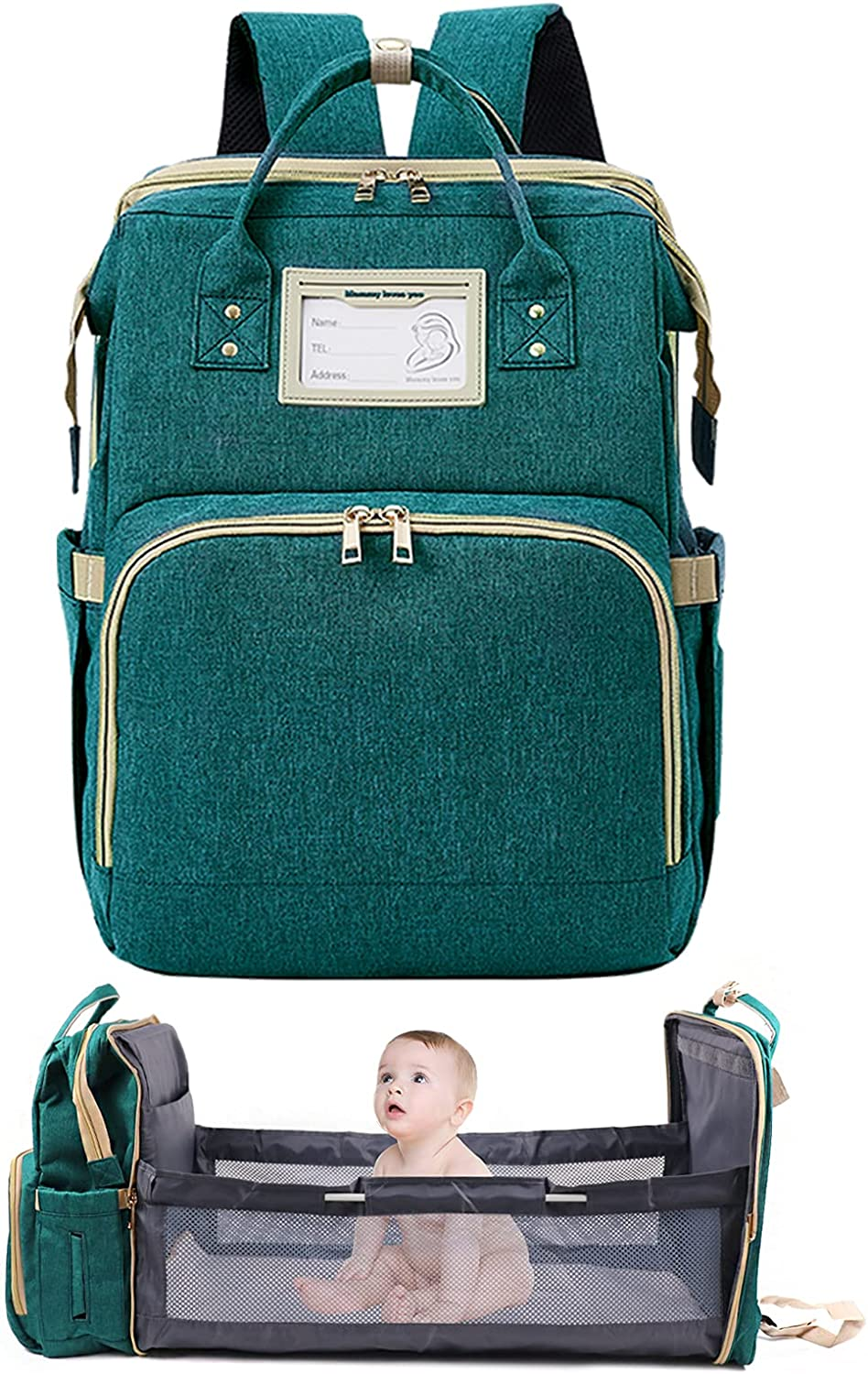 Diaper Discount mail order shopping Bag Backpack Baby Nappy Changing Bags Multifunction Wate