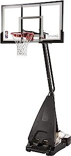 Spalding NBA Hybrid Portable Basketball Hoop System - Acrylic Backboard