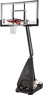 Spalding NBA Hybrid Portable Basketball System - 60