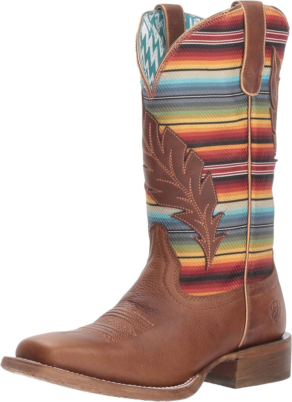 Ariat Women's Circuit Feather Boot, Autumn tan