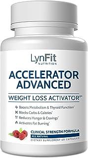 LynFit Nutrition Accelerator Advanced (with Raspberry Ketones, White Kidney Bean Extract, Coleus Forskohlii, & Gugul) — A ...