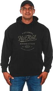 JH DESIGN GROUP Men's NHRA Hot Rod EST. 1951 Logo Pullover Hoodie Sweatshirt