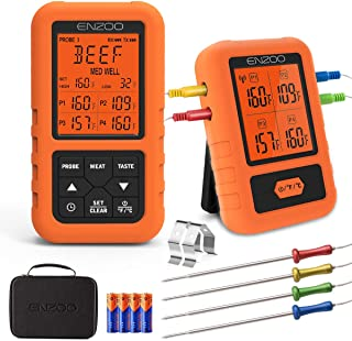 Best wireless thermometer with probe Reviews