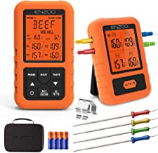 ENZOO Wireless Meat Thermometer for Grilling, Ultra Accurate & Fast Digital Meat..