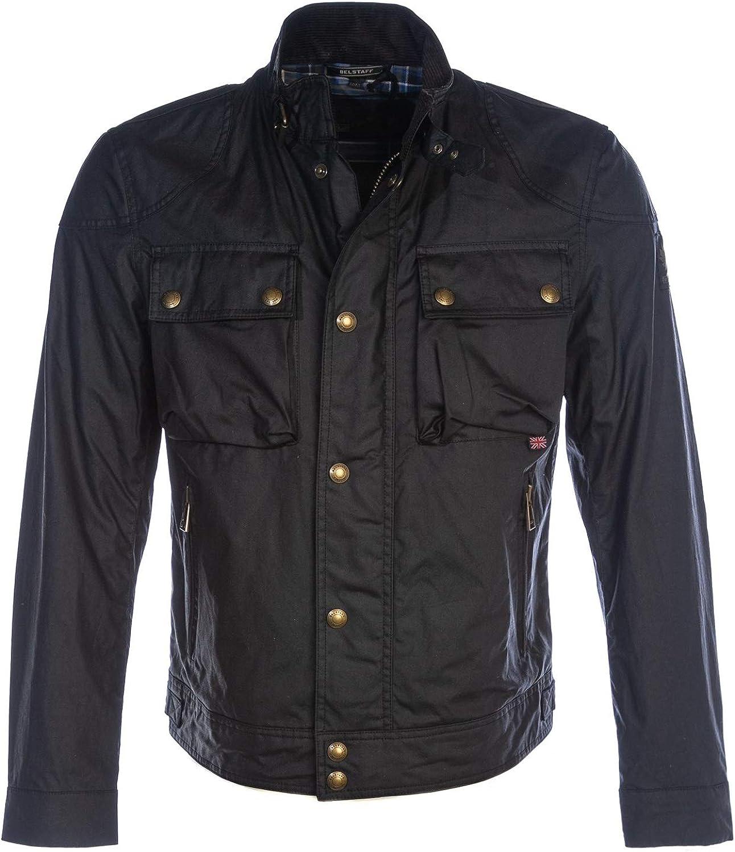 Belstaff Racemaster 6 oz Waxed Cotton Jacket