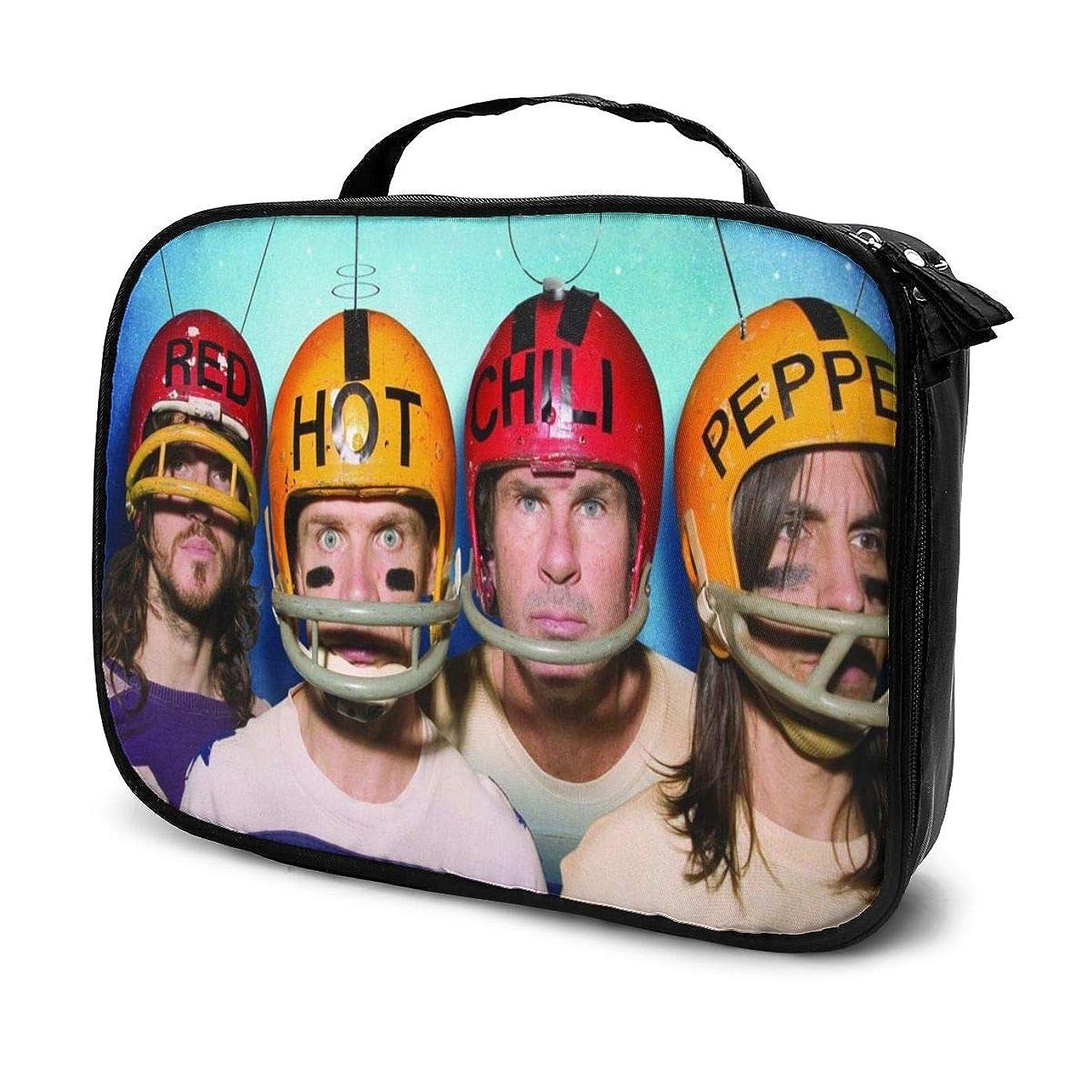 発送ラジカルリード化粧ポーチ Red Hot Chili Peppers 女性化粧品バッグ ビューティー メイク道具 フェイスケアツール 化粧ポーチメイクボックス ホーム、旅行、ショッピング、ショッピング