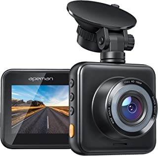 APEMAN Mini Dash Cam 1080P Full HD Dash Camera for Cars Recorder Super Night Vision, 170° Wide Angle, Motion Detection, Pa...