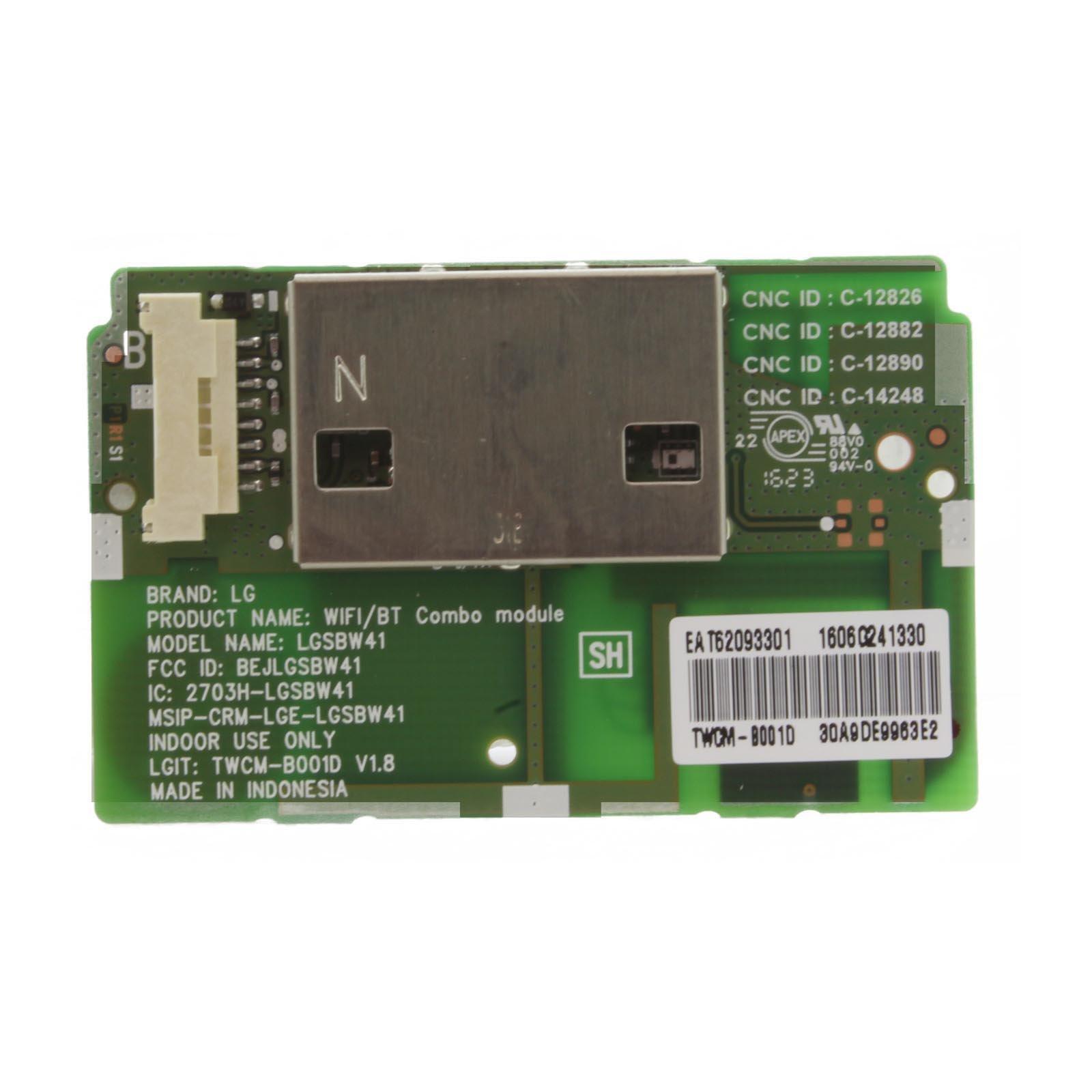Módulo Bluetooth 121AV WiFi para LG 50LF652V 50