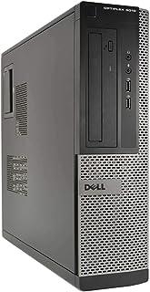 Dell Optiplex 3010 SFF Desktop PC - i5-3470 3.20GHz Quad Core, 4GB RAM, 250GB HDD, DVD-RW, Win10 Pro (Renewed)