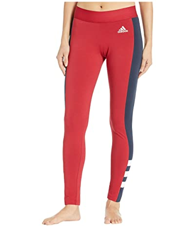 adidas Sport ID Tights (Active Maroon/Legend Ink) Women