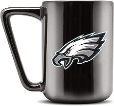 Duck House NFL PHILADELPHIA EAGLES Ceramic Coffee Mug - Metallic Black, 16oz