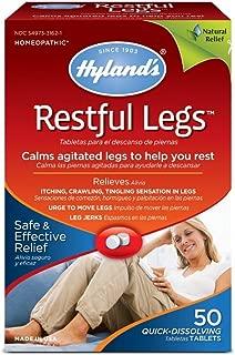 Hyland's Restful Legs Tablets 50 ea (Pack Of 3)