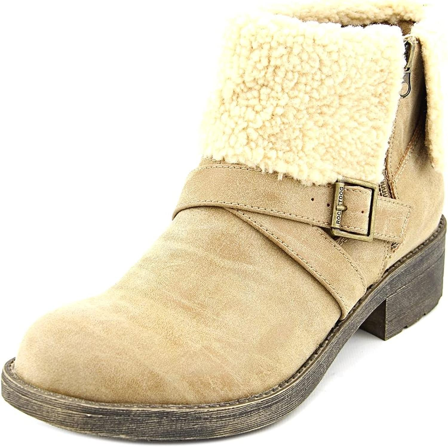 Rocket Dog Tobie Women US 6 Tan Ankle Boot