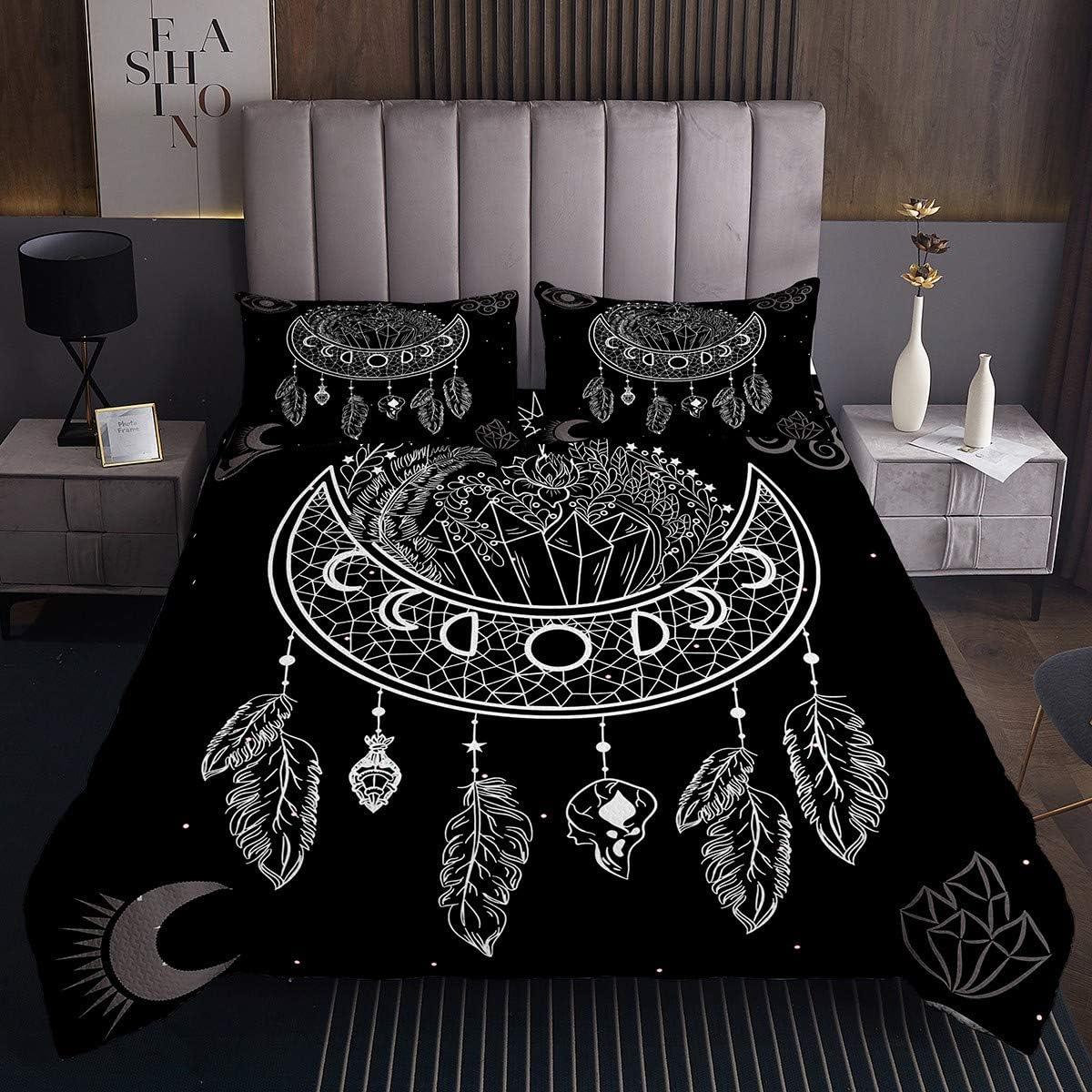 Dreamcatcher Bedding Chicago Mall Set Bohemian Feather Free shipping Manda Bedspread Ethnic