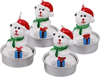 Pinak Snowman Religious Candle - Unscented