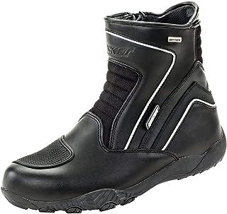 Joe Rocket Men`s Meteor FX Mid Leather Motorcycle Riding Boot (Black, Size 7)