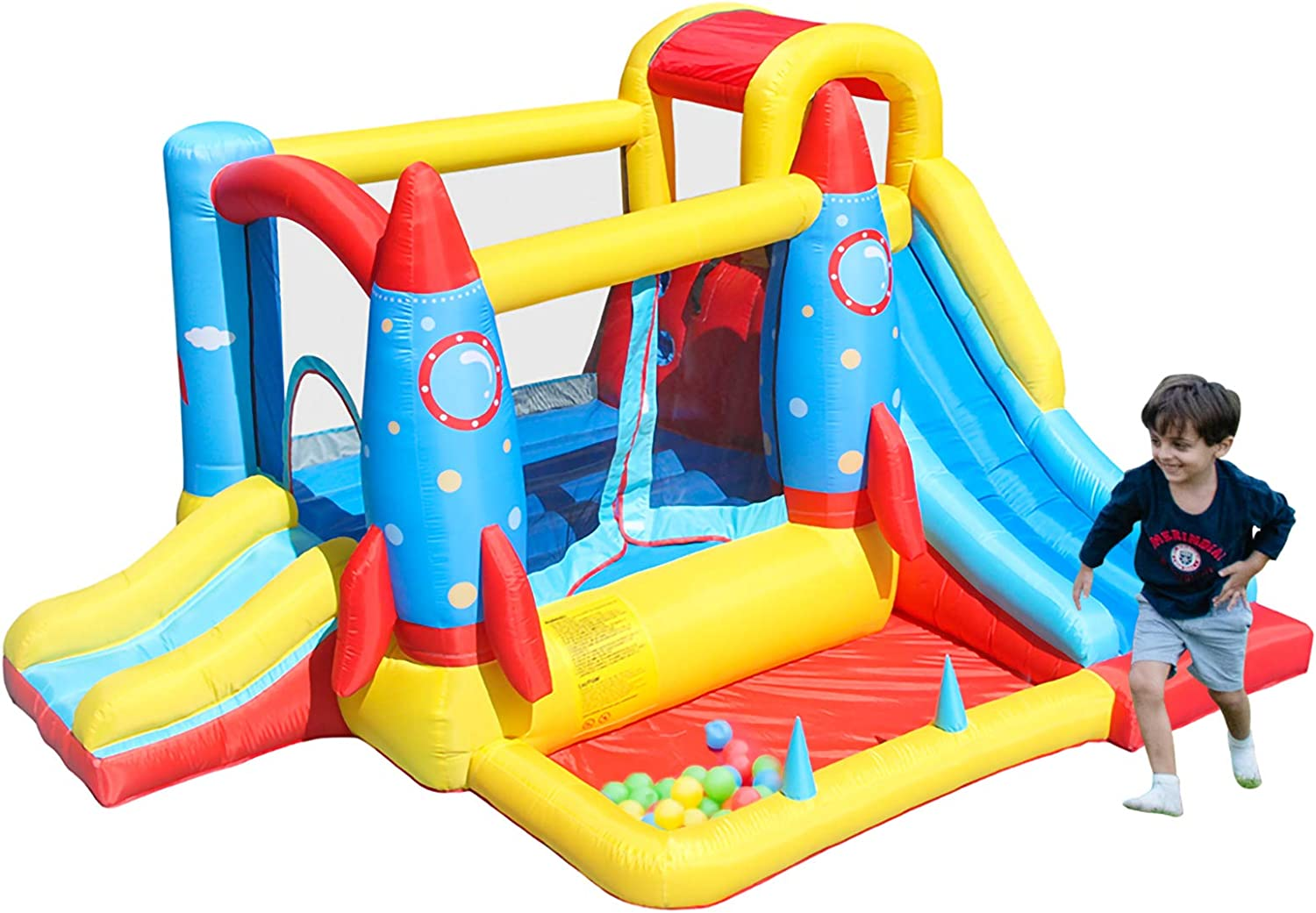 AirMyFun Inflatable Bounce House [Alternative dealer] Bouncy Blower with Max 68% OFF Castle Air P