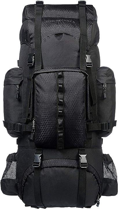 Zaino da escursionismo amazon basics con telaio interno e cerniera antipioggia ZH1704013