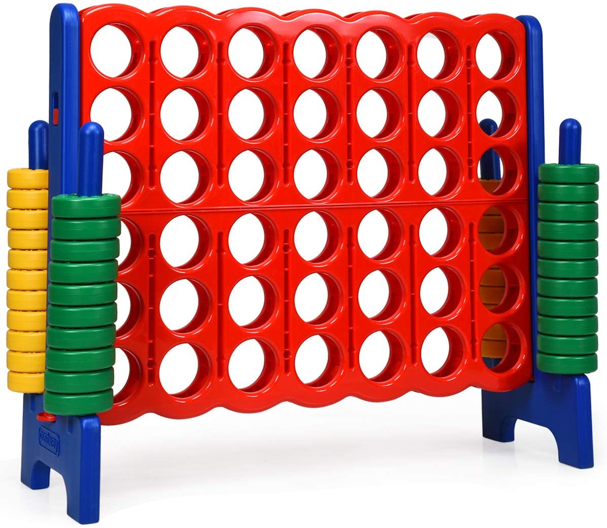 COSTWAY Jumbo 4-to-Score Giant Game Set 4 Kids Online limited product and Row A Max 66% OFF for in