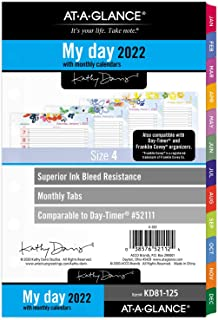 "$33 » 2022 Daily & Monthly Planner Refill by AT-A-GLANCE, 52111 Day-Timer, 5-1/2"" x 8-1/2"", Size 4, Kathy Davis (KD81-125)"