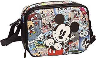 Disney Mickey Comic Bolso Bandolera, 3.13 litros, Color