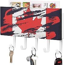 Crochet de clé fixé au mur, support mural de trieuse de courrier, organisateur de porte-clé de courrier, illustration de c...