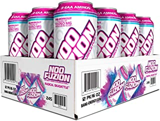VPX, NOO FUZION, Ready-to-Drink Pre-Workout, Potent Mind & Muscle Fuel, Cognizin, 300mg Caffeine, 7000mg EAAs & BCAAs, 2.5...