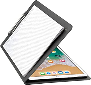 iCarryAlls Organizing Folio Case with Spring Clip, Tablet Clipboard Case for 12.9 inch iPad Pro