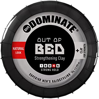 Dominate Out Of Bed Hair Shaping Paste with Clay, Salon Series, Strong Hair Hold with a Dry Matte Grunge Look, 85g (3 oz)