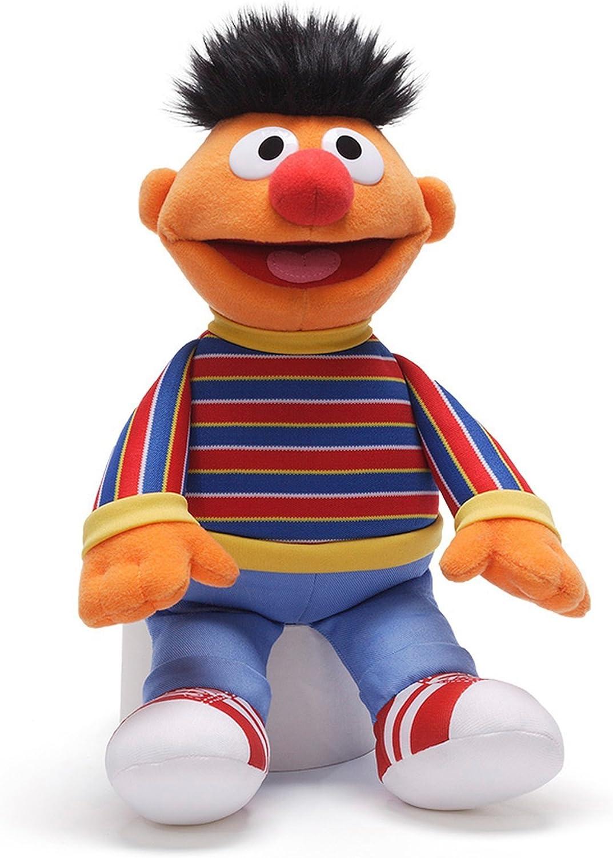 Gund High quality new Sesame Street Ranking TOP16 Plush Toy Ernie