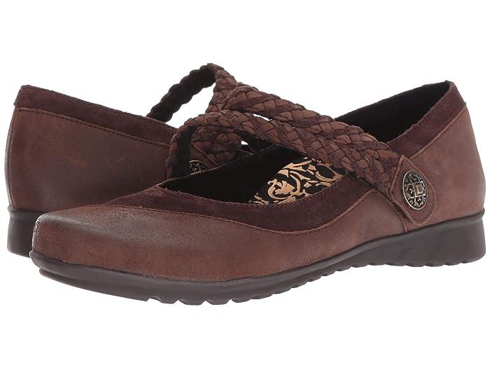 Aetrex  Essence Ada (Chocolate) Womens  Shoes