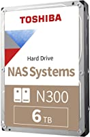 "Toshiba HDWN160XZSTA N300 6TB NAS 3.5"" Internal Hard Drive"