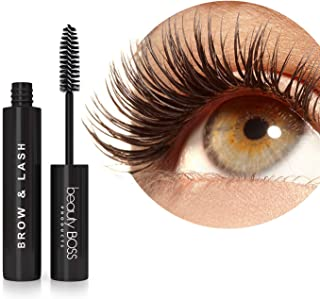 Eyelash Growth Serum - Natural Lash Boost and Brow Regrowth Rejuvenator - Enhancing Formula for Longer, Thicker Eyelashes and Fuller Eyebrows