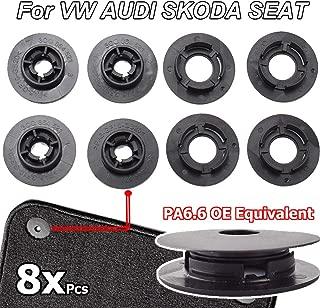 XUKEY Floor Mat Clips Fastener Carpet Fixing Grips Clamps for VW Passat Polo Golf Jetta Audi A1 A3 A4 A6 Skoda Octavia Seat Altea Leon
