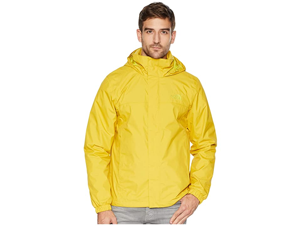 The North Face Resolve 2 Jacket (Leopard Yellow/Acid Yellow) Men