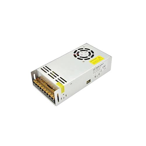 600 Watt LED Netzteil Netzteil 12 Volt 50 Ampere Konstante Spannung DC Single Output LED Beleuchtung Transformator Netzteil Treiber Adapter für LED Birnen Streifen Licht (PS600-12V)