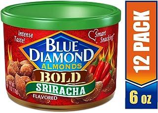 Blue Diamond Almonds, Bold Sriracha, 6 Ounce (Pack of 12)