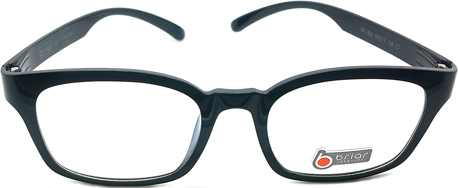 Brial Prescription Eye Glasses Frame Ultem Super Light, Flexible Br 306 C1