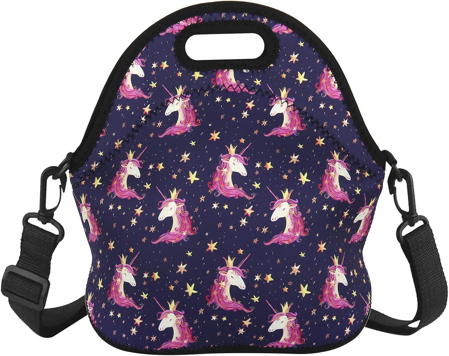 Unicorn Lunch Bag with Adjustable Strap Milwaukee Mall Tampa Mall Tote Foldable Waterproof