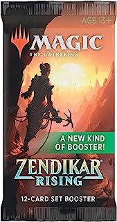 Magic The Gathering MTG-ZNR-SBD-EN Zendikar Rising Set (Single Booster Pack)