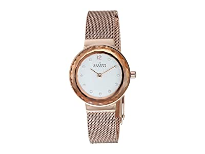 Skagen Leonora Two-Hand Watch (Rose Gold) Watches
