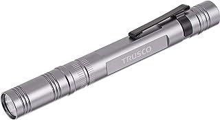 TRUSCO(トラスコ) アルミLEDペンライト 1球 110ルーメン TLP-85-SV