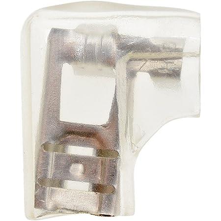 20pcs Flag 6.3mm Crimp Wire Terminal Female Spade Connector Case