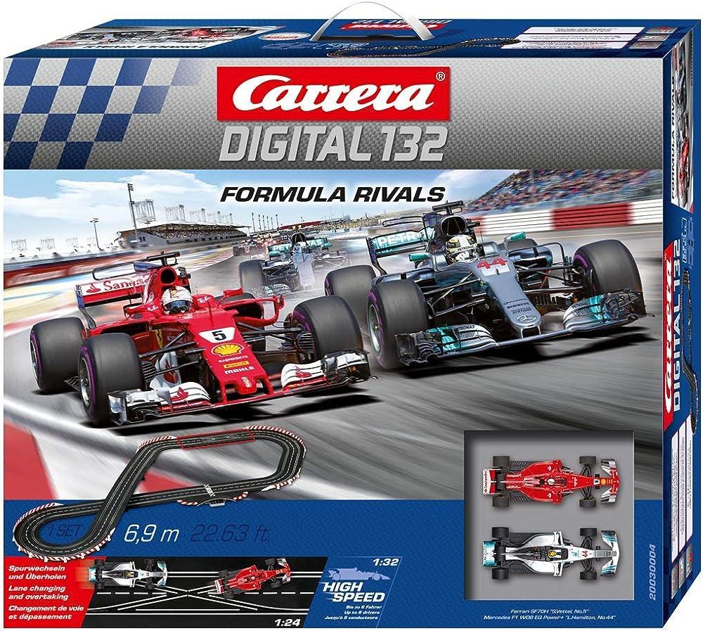 Pista digitale carrera formula rivals ferrari vs mercedes 20030004