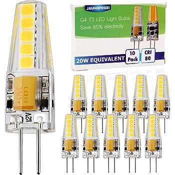 Lightme LED A++ 12x35 mm 12 V Sockel G4 1,2 W warmweiß