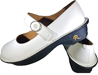 Reina Durable and Stylish Leather Mary Jane Spatoo Shoes for Comfort and Workwear