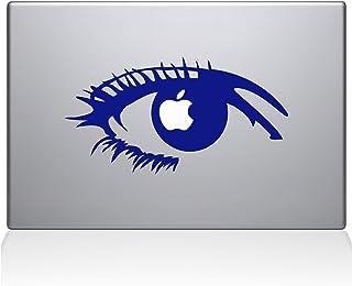 "The Decal Guru 0160-MAC-13A-DB Apple of my eye Vinyl Sticker, 13"" Macbook Air, Blue"
