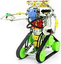 STEM Robot Building Kit | Build Your Own Robot Construction & DIY Engineering Toy | Educational Robot Kits for Kids to Bui...